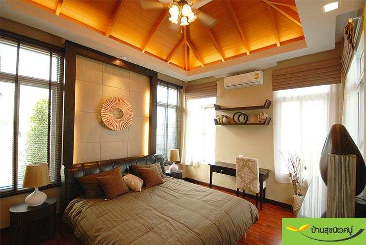 ห้องนอน บ้านเดี่ยว สิริศา 16 - พัทยา ชลบุรี